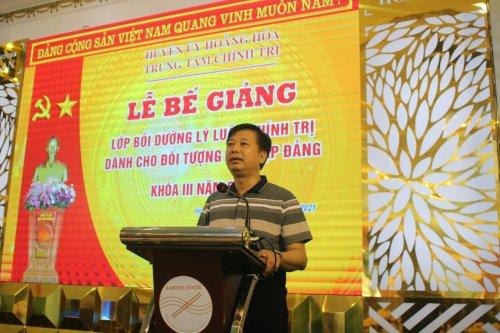 2. Đồng chí Lê Xuân Thu-Tỉnh ủy viên-Bí thư Huyện ủy- Chủ tịch HĐND huyện phát biểu chỉ đạo.jpg